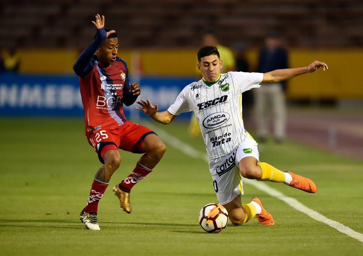 Copa Sudamericana | Defensa sufrió en la altura de Quito pero festejó y está en 8vos