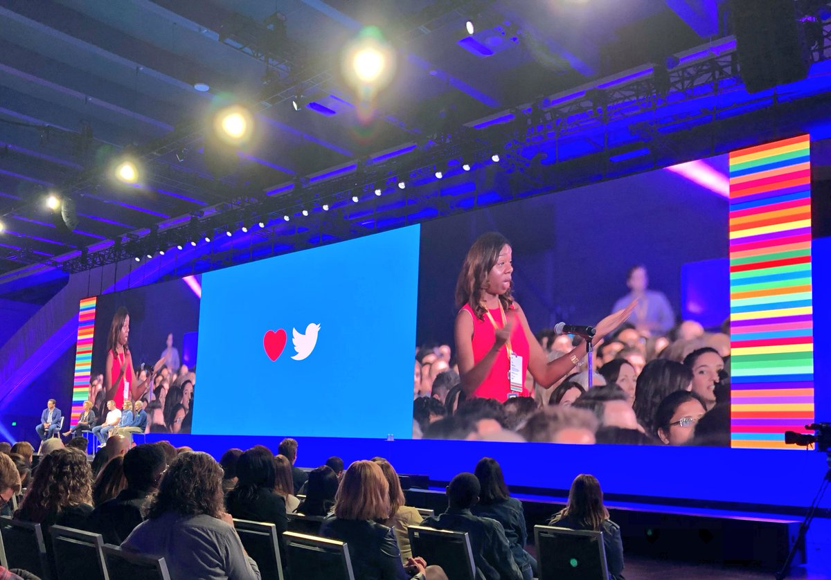 You are a boss, @tamikatalks ! #OneTeam