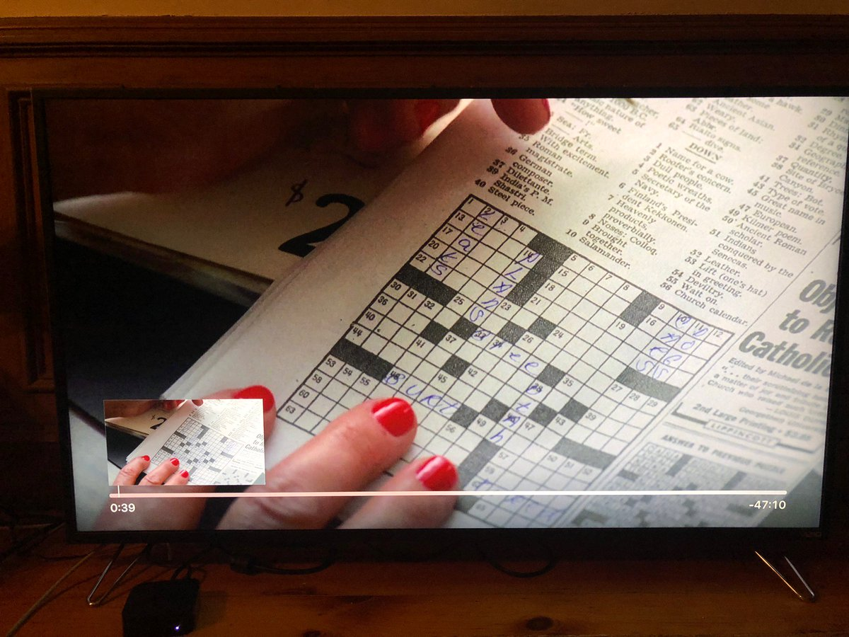 Oliver roeder on twitter in rather remarkable attention to detail oliver roeder on twitter in rather remarkable attention to detail this crossword from mad men s4 is actually the nyt crossword from mar 12 1965 m4hsunfo