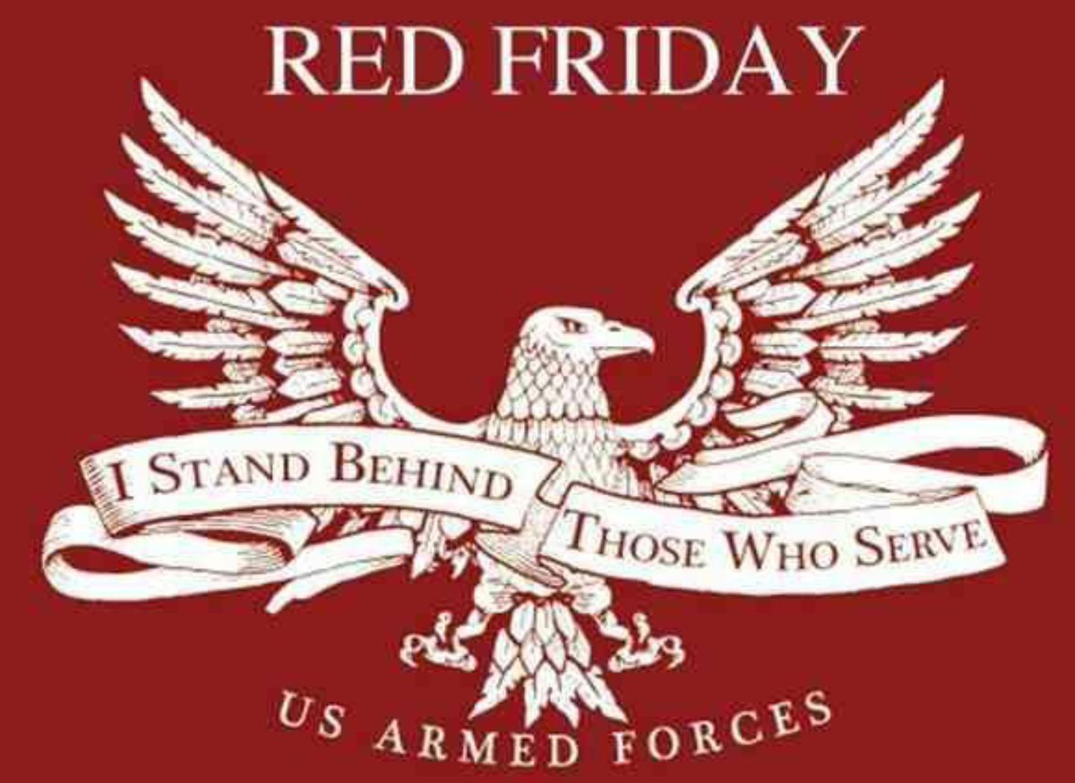 It&#39;s #RedFriday! Remember Everyone Deployed!  #RedFriday #CCOT #LNYHBT #PJNET<br>http://pic.twitter.com/s0ayqsrzR2
