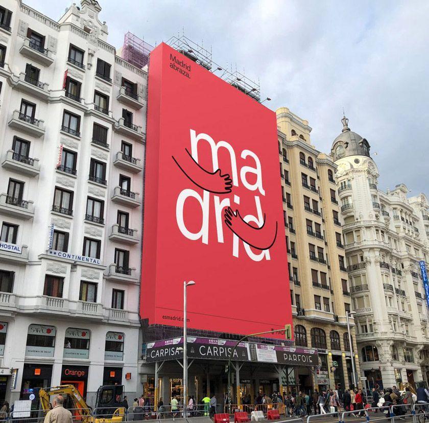 马德里的拥抱:马德里(Madrid)推出全新旅游品牌 LOGO #设计参考  https://t.co/Fb36Se6LpH https://t.co/ziAE1dUCUS 1