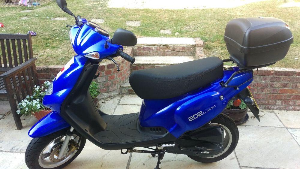 Uk Scooter Sales On Twitter Ebay Tgb 202 Classic 50cc Moped Https T Co P8xm479nki