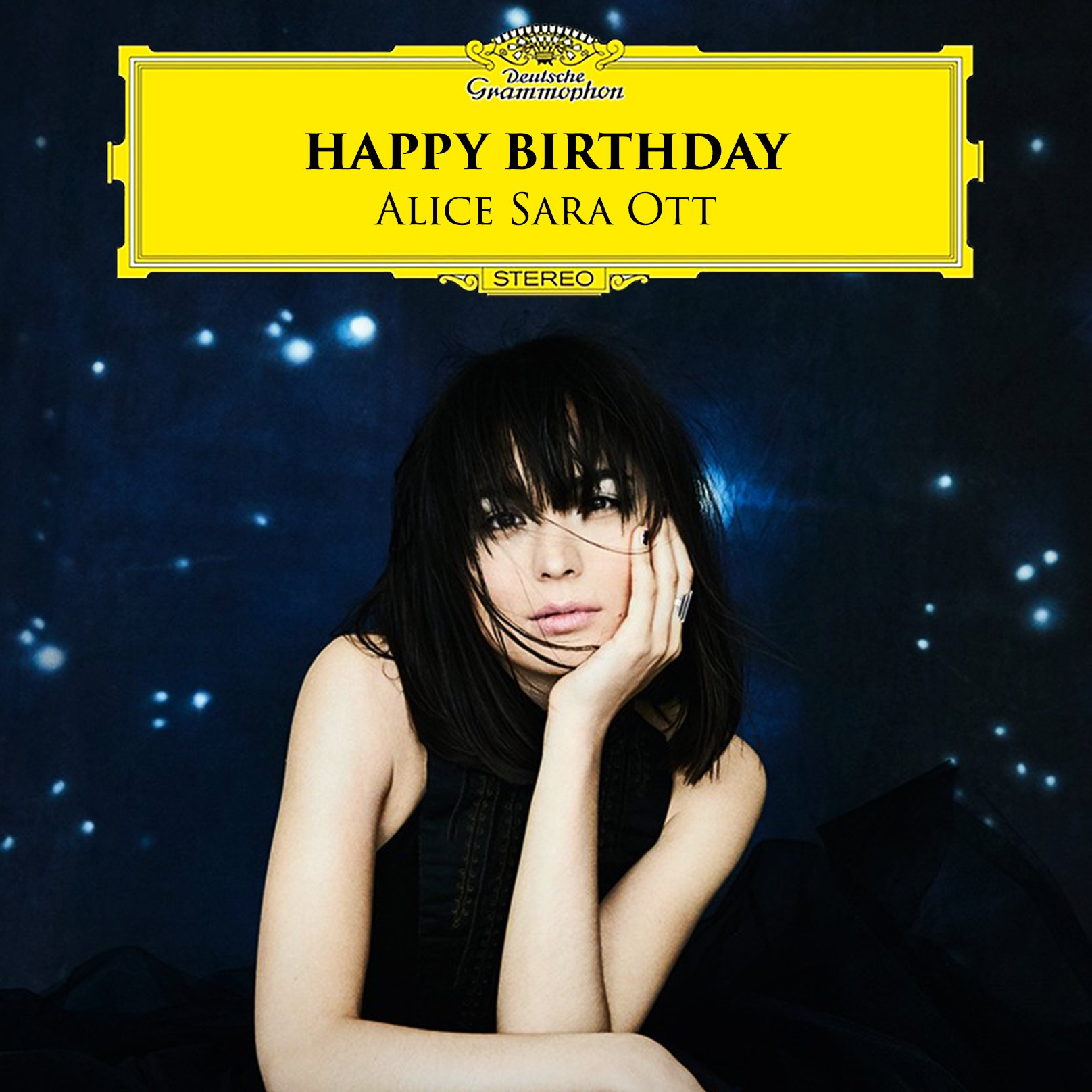 Reloaded twaddle – RT @DGclassics: Happy Birthday, @AliceSaraOtt! Marking the dual celebration of h...