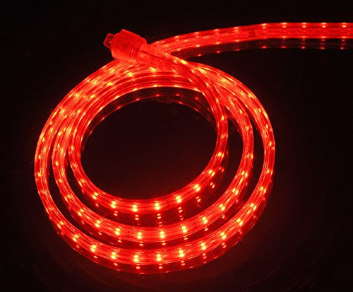 CBconcept 120VLR-65FT-WW Warm White 65-Feet 120-volt 2-Wire 1//2-Inch LED Rope Light Christmas Lighting Indoor//Outdoor Rope Lighting