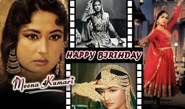 wish a Happy Birthday to Legendary Actress Meena Kumari ..