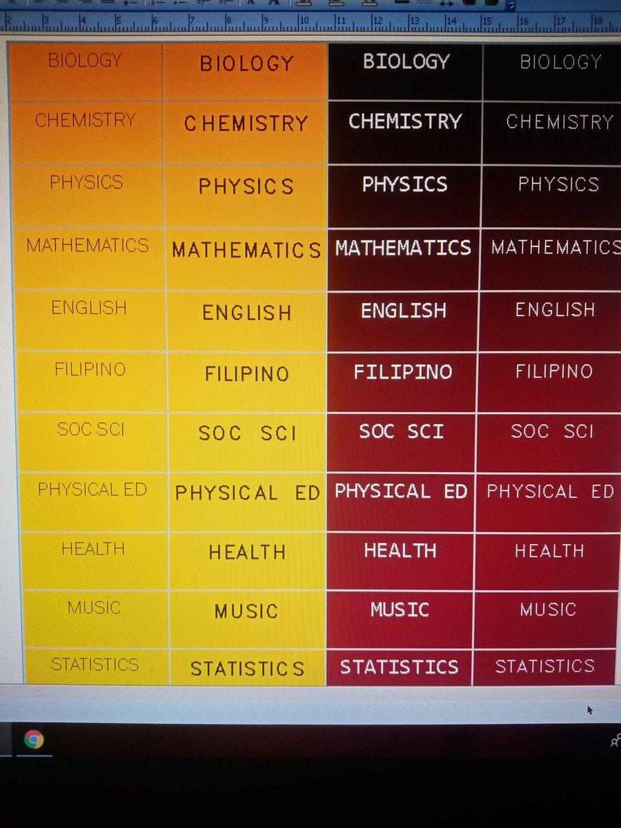 dear 1-unit subjects, let's be good friends :))