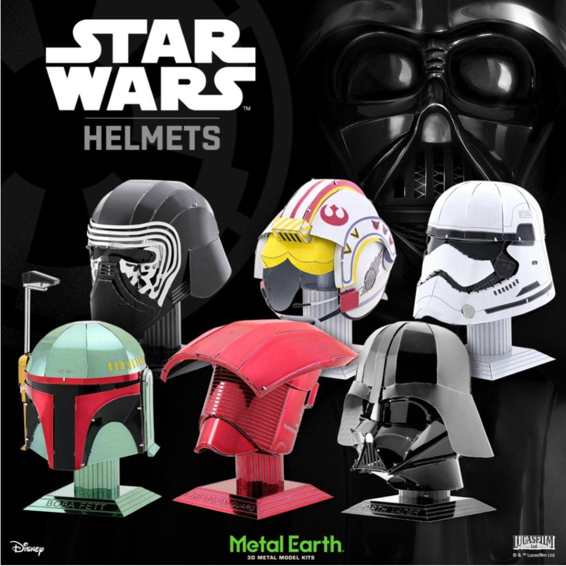 d16861aac  Starwars  MetalEarth giveaway!  Win Complete set of SW Helmets Metal Earth  models from  MetalEarth3D !  metalearth  Giveaway  DwilightF66   JohnnieBowers47 ...