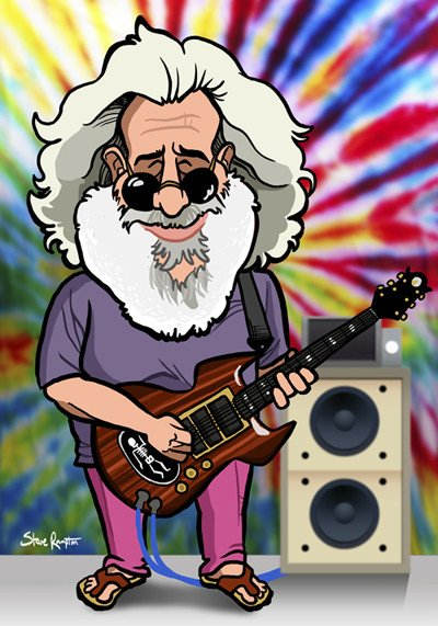 """Happy Birthday to Mr Jerry Garcia... \""""You know our love will not fade away\"""""""