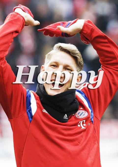 Happy Birthday to the Fußballgott Bastian Schweinsteiger!