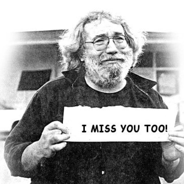 Happy Birthday Jerry Garcia. (August 1, 1942 August 9, 1995)