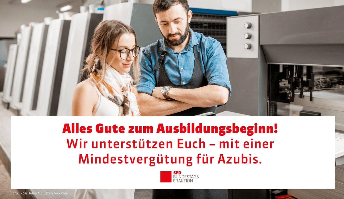 Spd Im Bundestag On Twitter Liebe Neu Azubis Alles Gute Und Viel