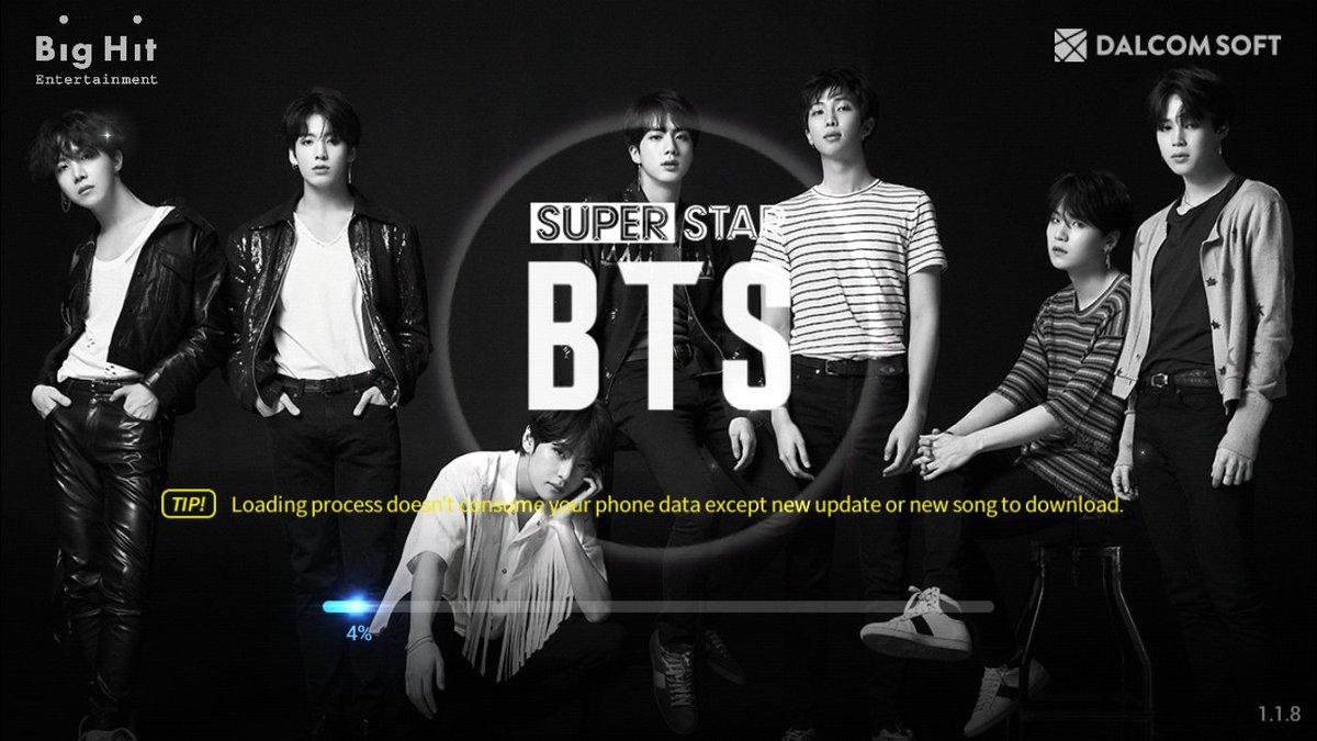 Superstar BTS App! 080118