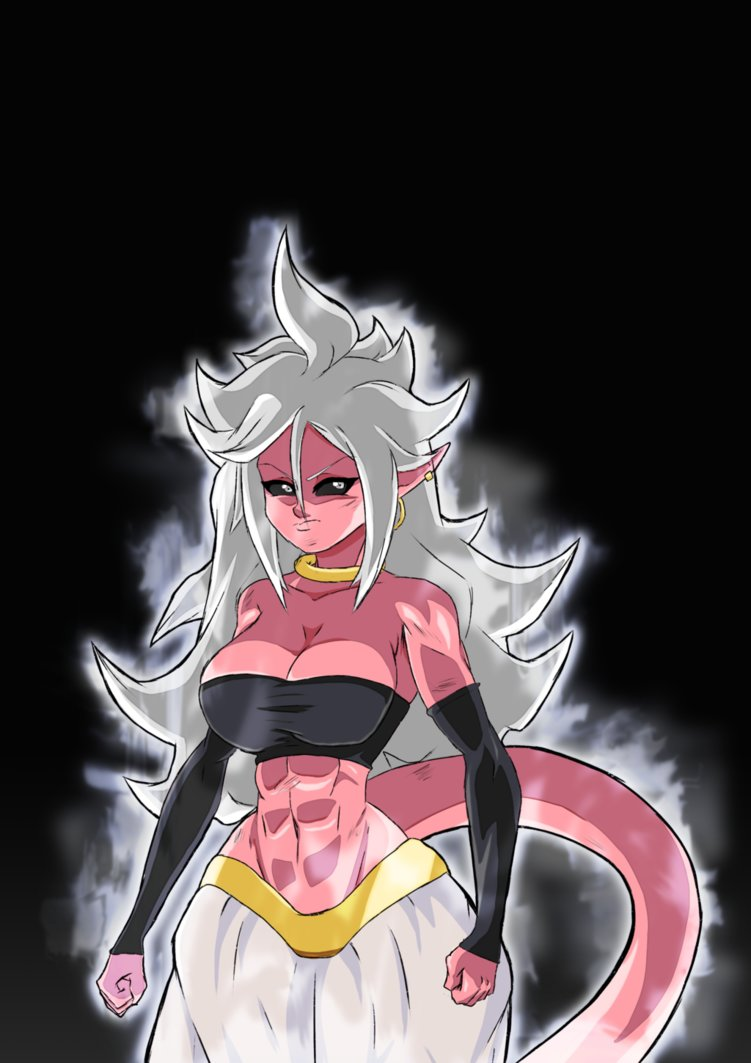 android 21 nackt