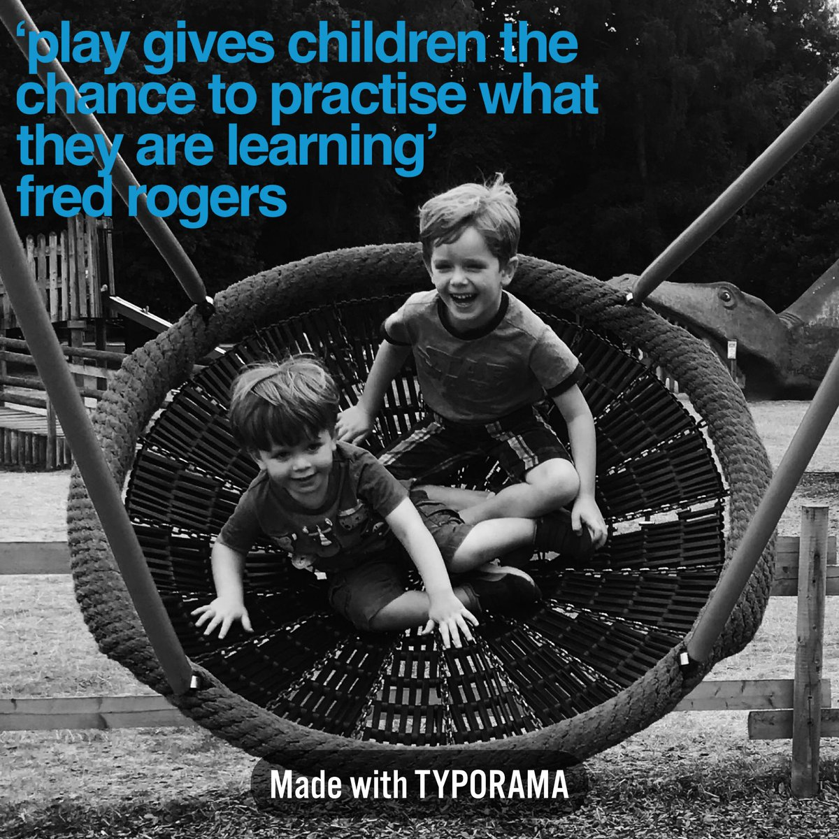 Victoria Auton On Twitter Play Gives Children The Chance To Practise What They Are Learning This Quote From Fred Rogers Is In Honour Of Playday2018 A National Day Of Play Where We