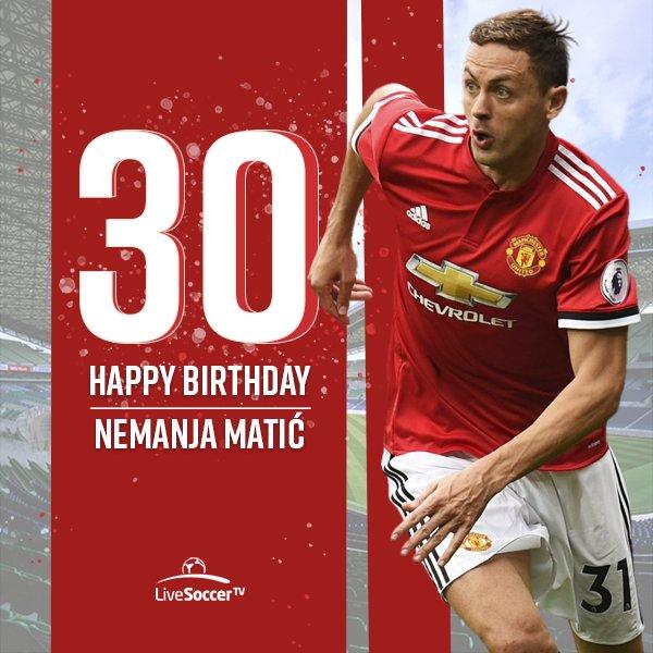 Happy birthday, Nemanja Mati