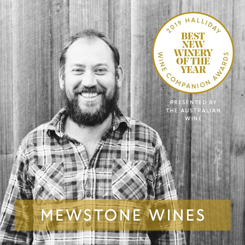 Mewstone Wines is named Best New Winery at the 2019 Halliday Wine Companion Awards, presented by @australian Wines. #hallidaywinecompanionawards2019 #jameshalliday #hallidaywinecompanion2019 #hallidaywinecompanion #wineawards #topaustralianwines #mewstonewines #theaustralianwines