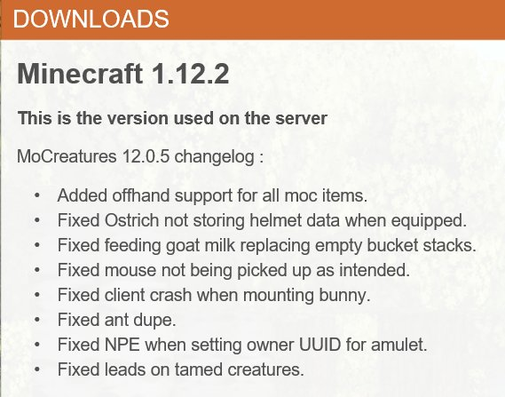 Mocreatures Official Server On Twitter The Bunny Crash Fix The