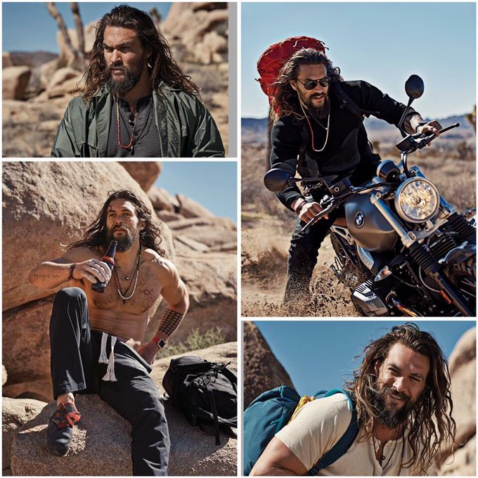 Today in History August 1st  Happy 39th Birthday 1979 Jason Momoa born in Honolulu, Hawaii.