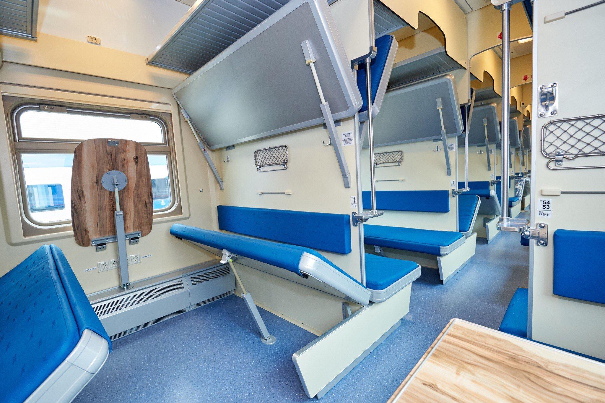 как выглядят плацкартные места в поезде фото продукцию