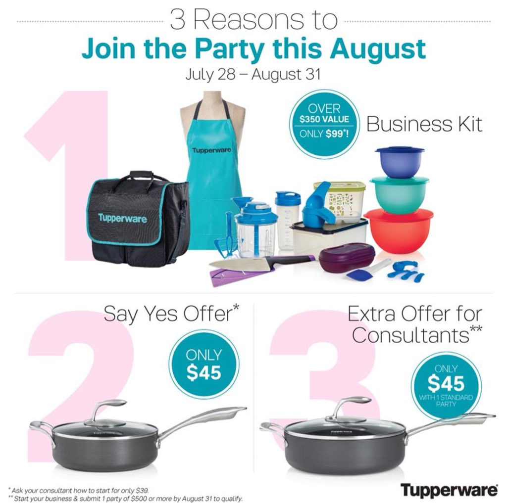 Sayyesoffer Hashtag On Twitter Tupperware Tchef Fry Pan Weve Never Had Cookware Before Its A 24900 Value For 4500 Just Saying Yes To Http Annmariecmytupperwarecom Nasaapproved