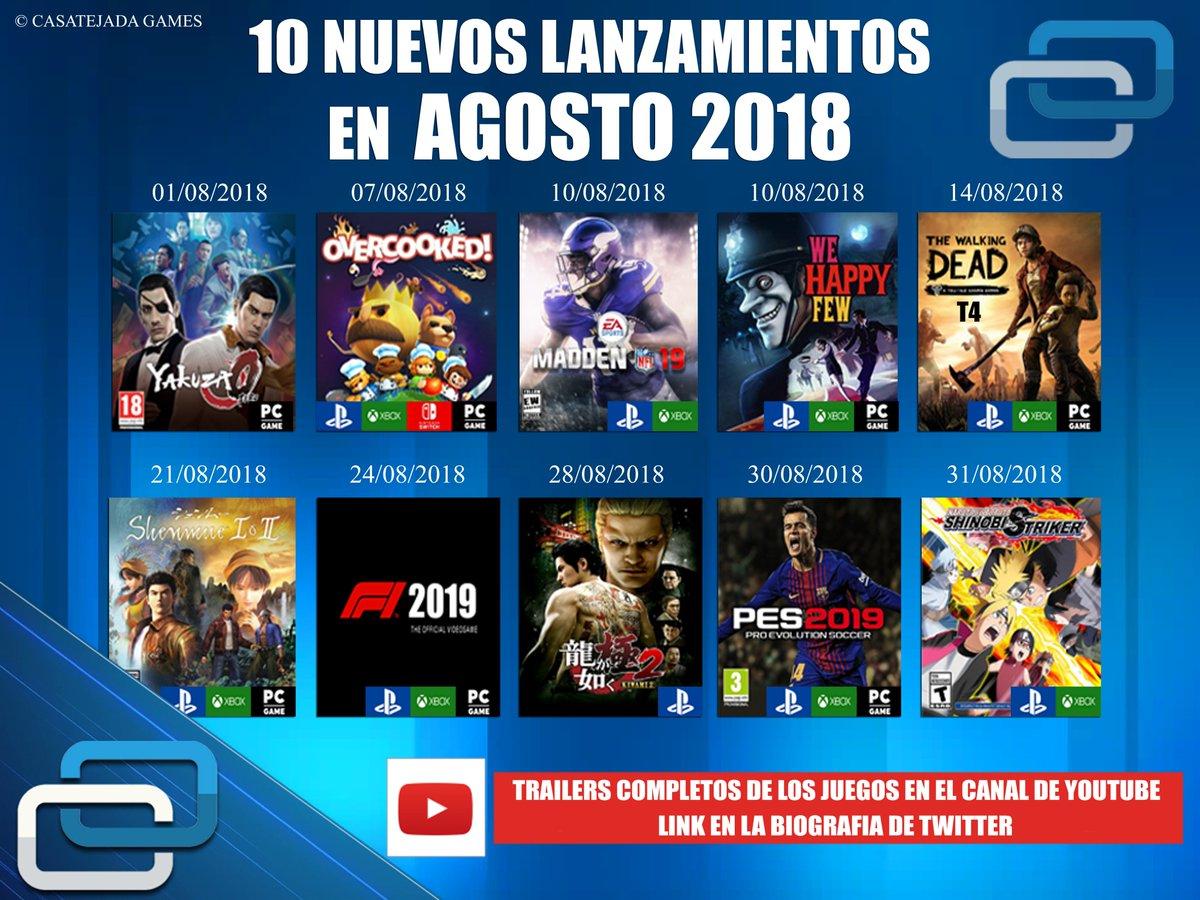 Casatejada Games On Twitter Los 10 Proximos Lanzamientos De Ps4