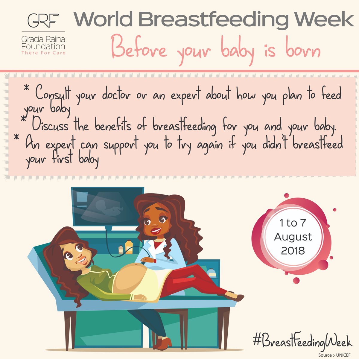 Consult your doctor or a lactation expert about #breastfeeding before your baby arrives. How do I position my baby?What if breastfeeding hurts?Do babies have one breast or both per feed? How do I know if my baby had enough milk? Knowing these answers will help! #BreastFeedingWeek