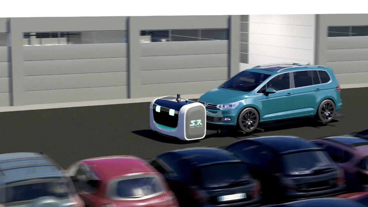 Image for the Tweet beginning: A robot that parks your