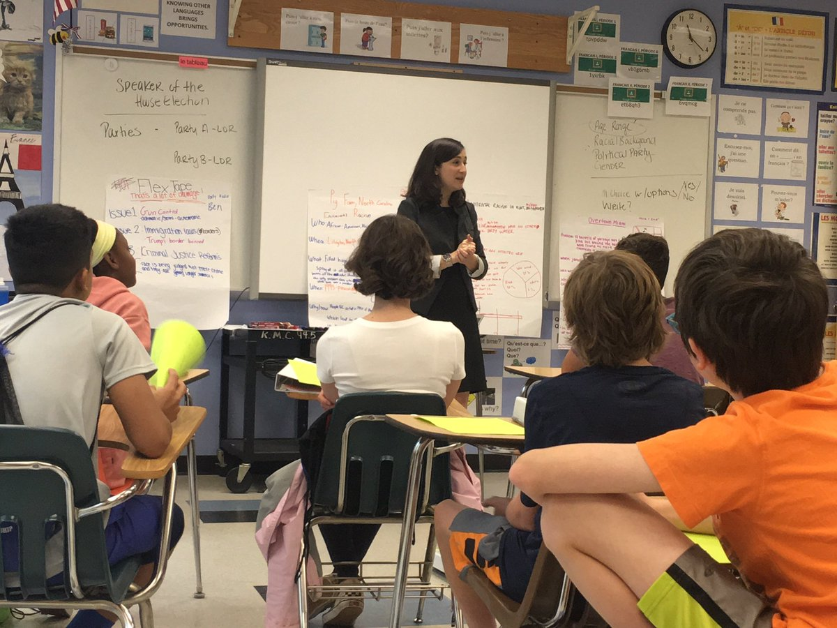 Democracy in Action! Thankful to <a target='_blank' href='http://twitter.com/kcristol'>@kcristol</a> for speaking with APS students on Monday about issues in local gov and beyond! <a target='_blank' href='http://twitter.com/APSTeachLearn'>@APSTeachLearn</a> <a target='_blank' href='http://twitter.com/APSVirginia'>@APSVirginia</a> <a target='_blank' href='https://t.co/qd7JyNQwPe'>https://t.co/qd7JyNQwPe</a>