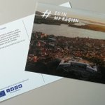 Image for the Tweet beginning: The first postcards have been