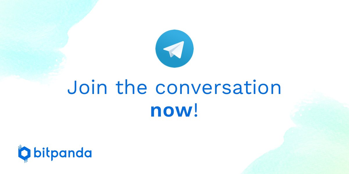 Weve just launched two Bitpanda Telegram groups as well as an Announcement channel. 🇬🇧 t.me/bitpanda_en 🇩🇪 t.me/bitpanda_de 📣 t.me/bitpanda_annou… Come and say hi!