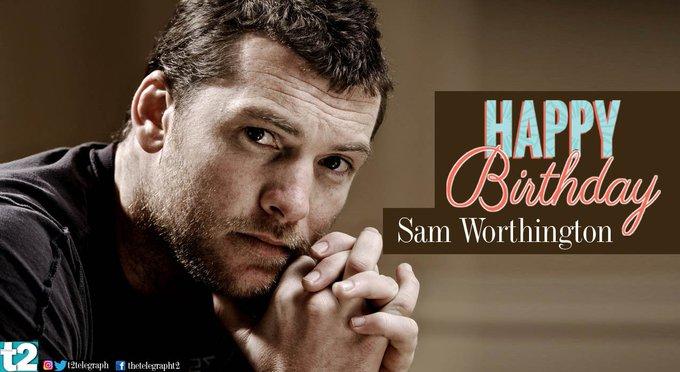 T2 wishes a very happy birthday to Sam Worthington aka Avatar\s Jake Sully.