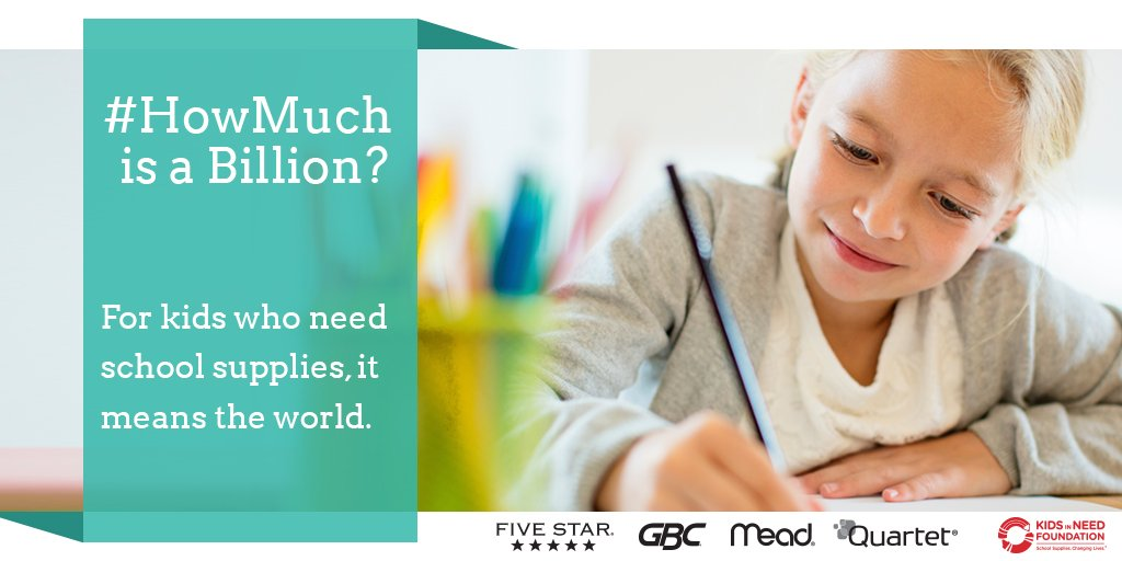 Make a commitment to education this year and donate to help the @KidsInNeed before school starts! 🙂 #HowMuch https://t.co/X94ixfykh1 https://t.co/QTDaDbOr5w