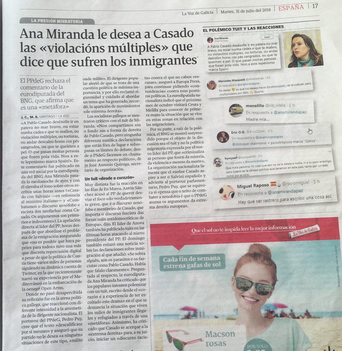 Desea Bng On A Pastor TwitterUna Eurodiputada Del Le Natalia vN8n0wm