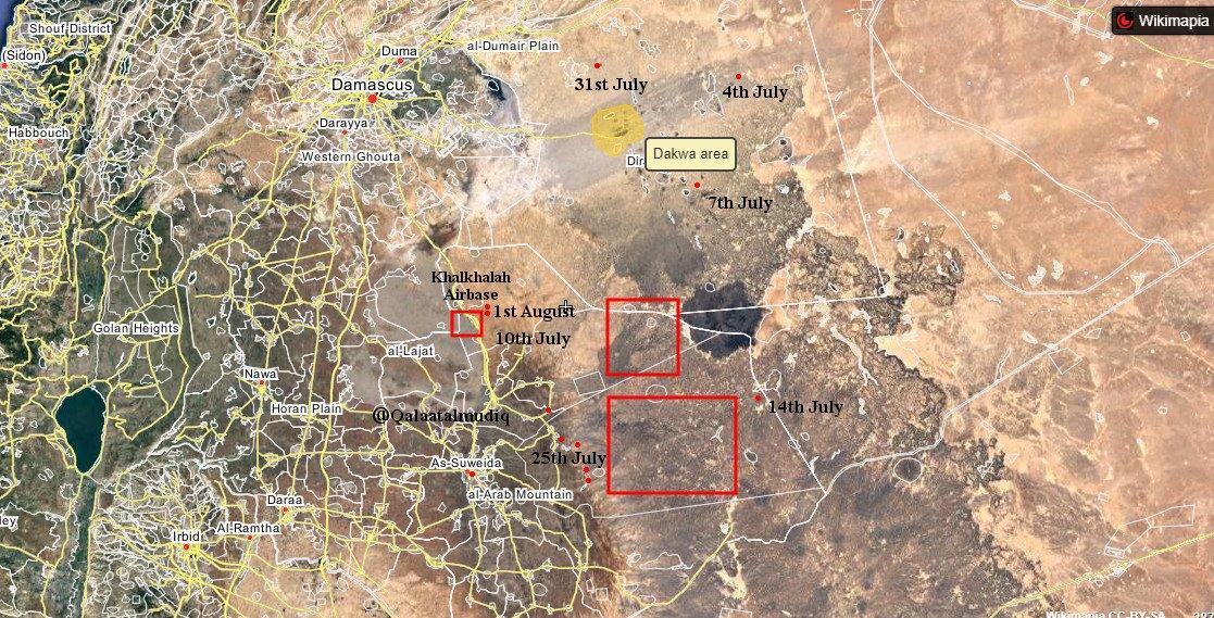 ISIS ATACA BASE MILITAR DE SUWAIDA Djhd2qnW0AA13Tr