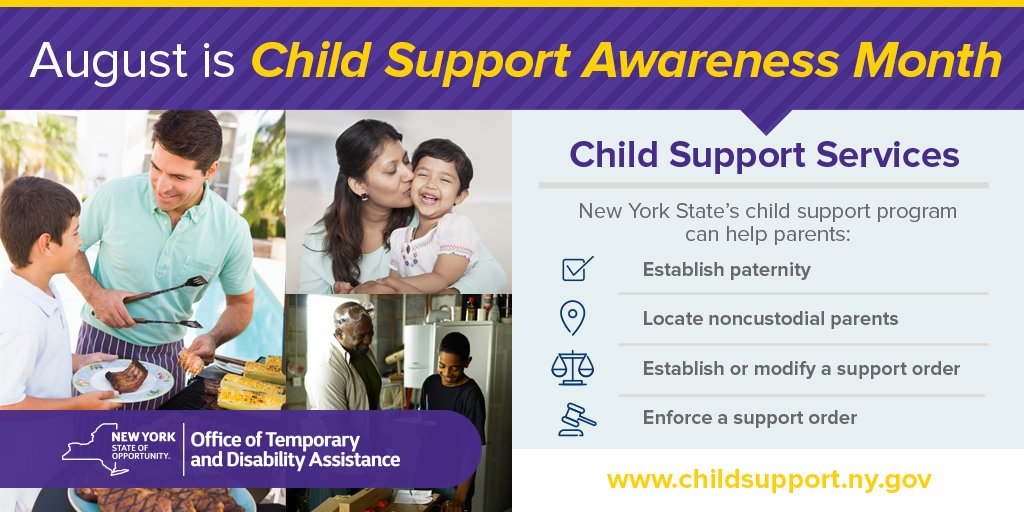 new york child support number