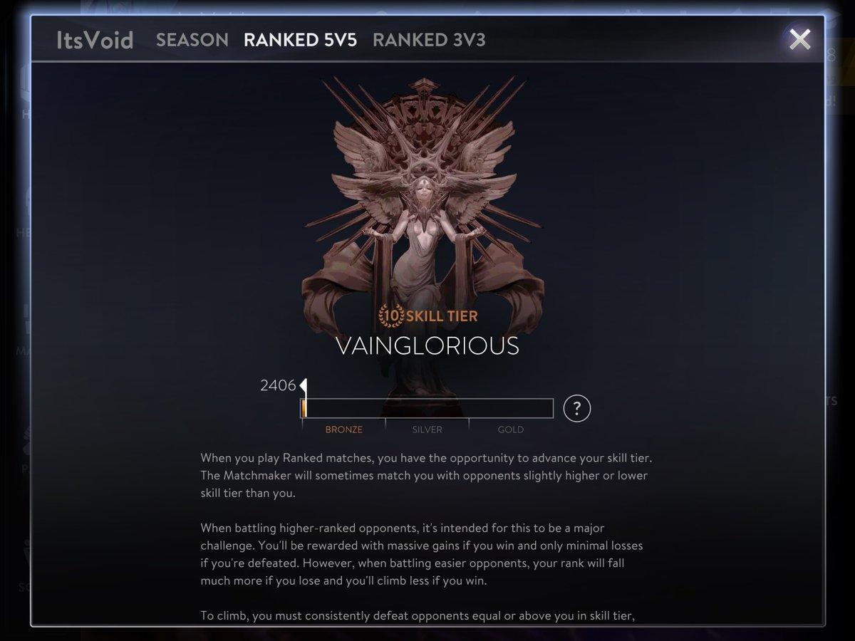 Vainglory matchmaking too long