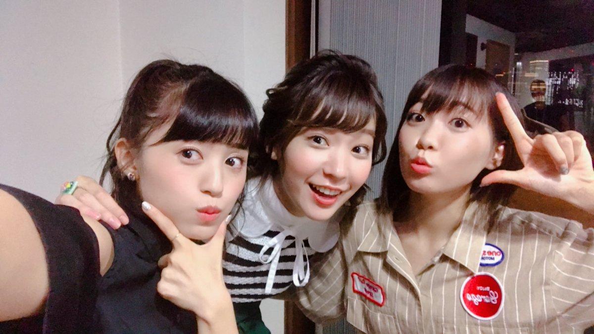 本日はこの3人で、TOKYO FM「SCHOOL OF LOCK!」にお邪魔してきました   今日は生放送だから少し緊張しました   遅くまでお付き合いありがとうございました!!  #SOL