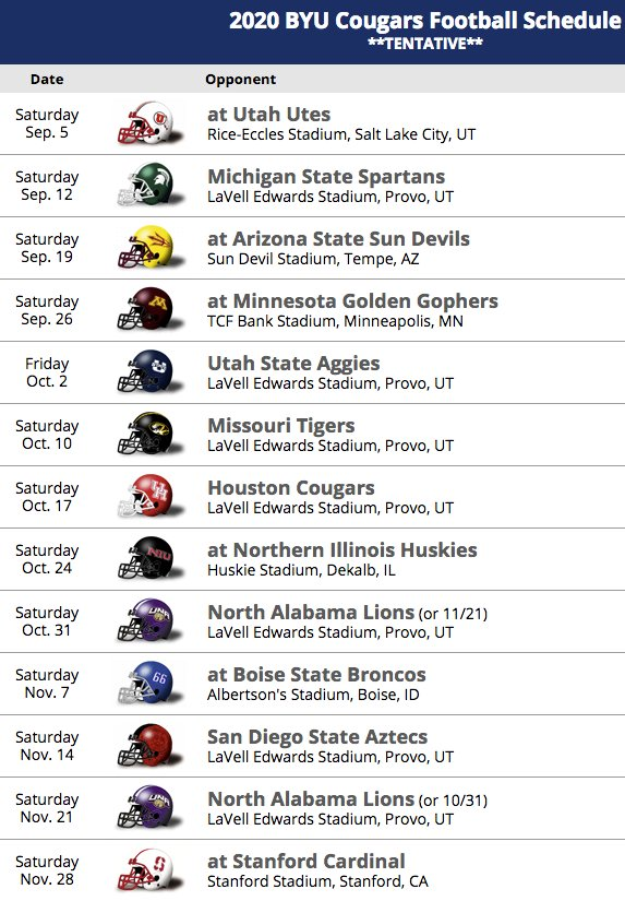 Arizona Football Schedule 2020 Jarom Jordan on Twitter: