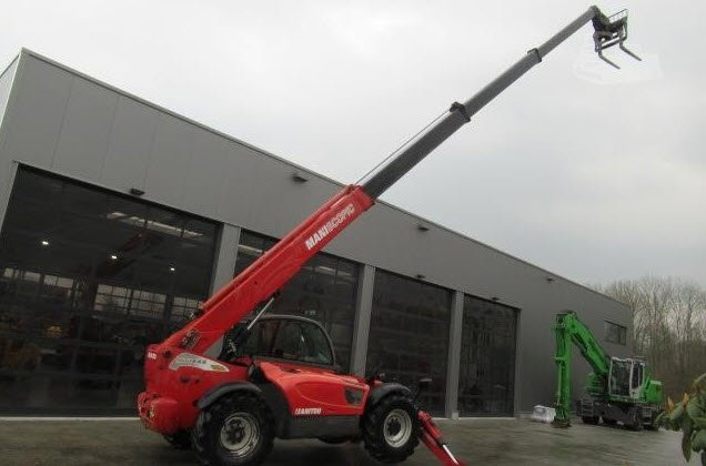 Machinery Trader Eu On Twitter This 2008 Manitou Mt1840 Telescopic
