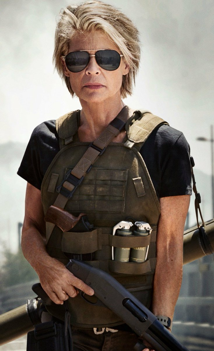 Linda Hamilton Ass - 2019 year