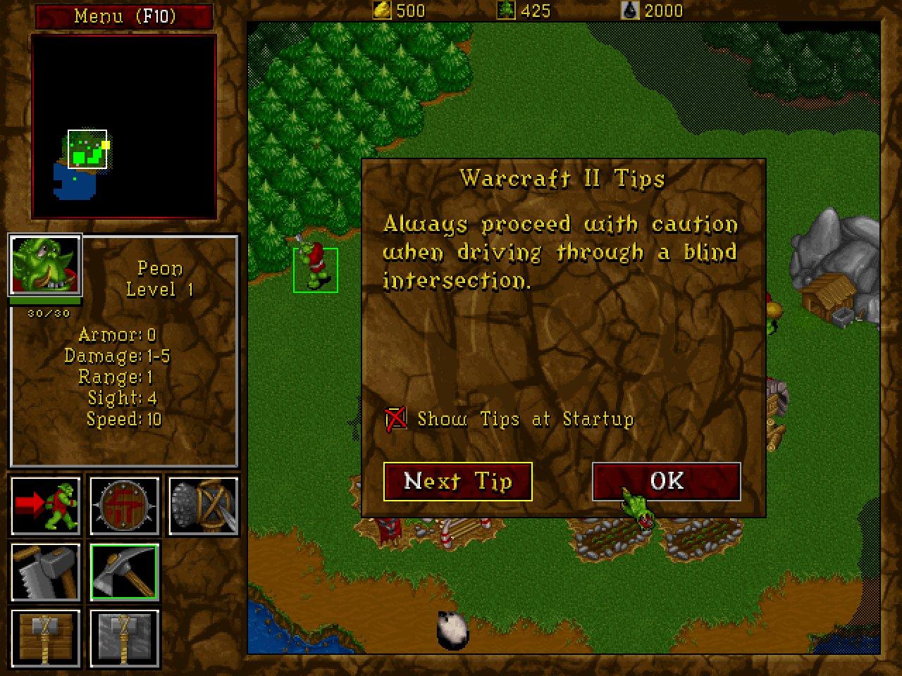 Anatoly Shashkin On Twitter Warcraft Ii Tips Dosgaming