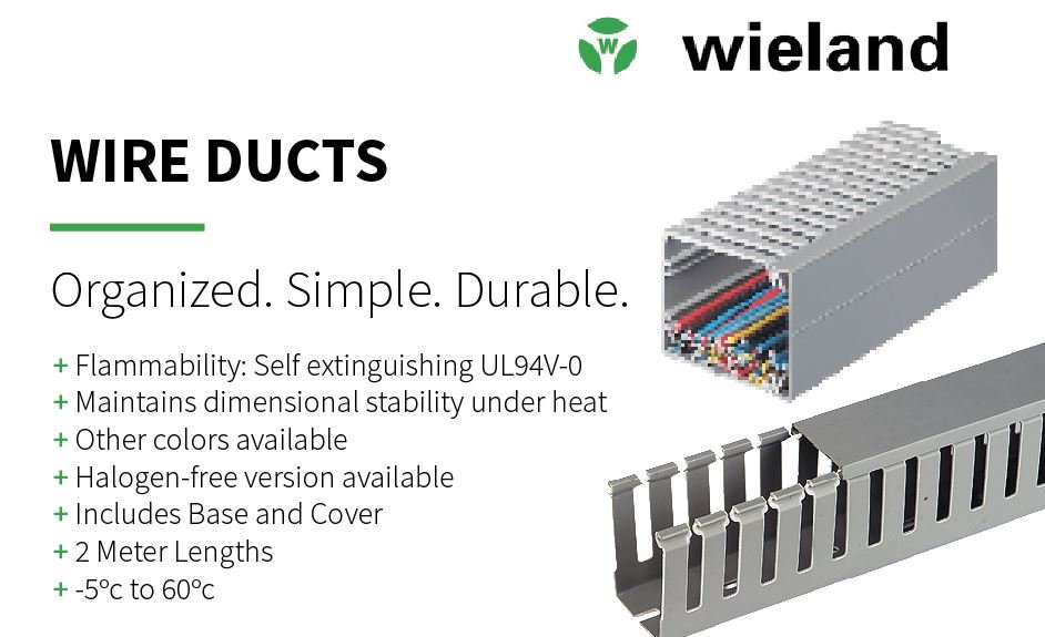 wieland electric north america � @wielandelectrus  pioneers in electrical  connection