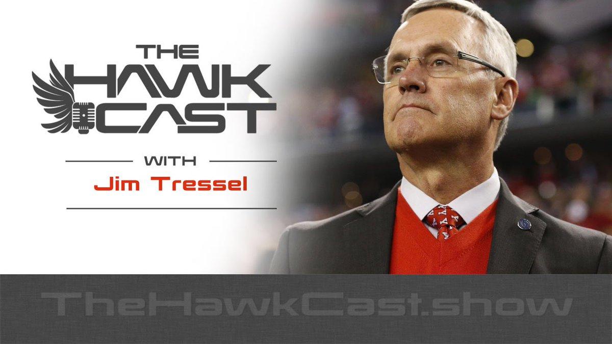 E147: Coach Tressel in a talk I've waited a long time for... goo.gl/7z1EeX @JimTressel5 #HawkCast
