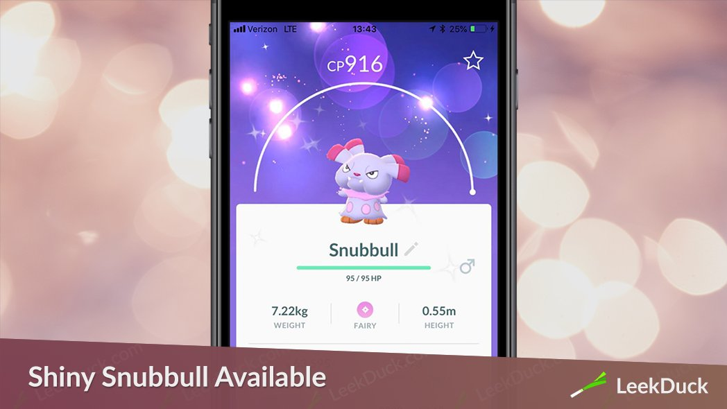 leek duck nyc on twitter snubbull and granbull are now available