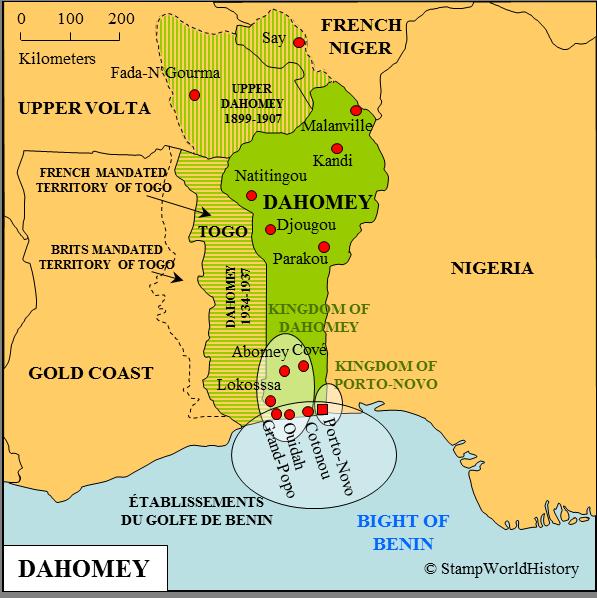 dahomey hashtag on Twitter on