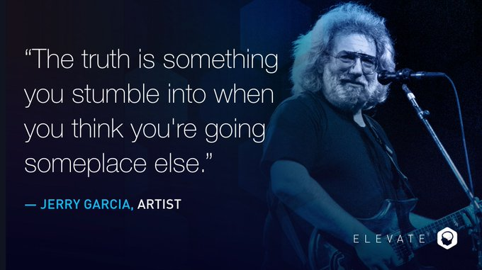 Happy birthday to artist Jerry Garcia, the American singer-songwriter well known for his distinctive guitar playing.