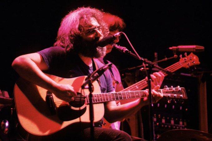 Happy Birthday Jerry Garcia: Watch the Grateful Dead Play Deep Elem Blues Acous...