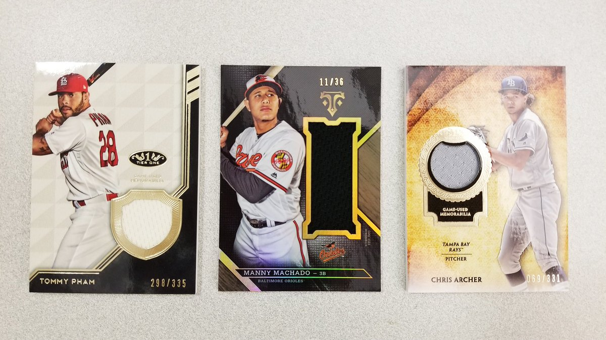 Trade Deadline special! 26 relic/autograph cards, one winner. RT for your chance. #MLBCards