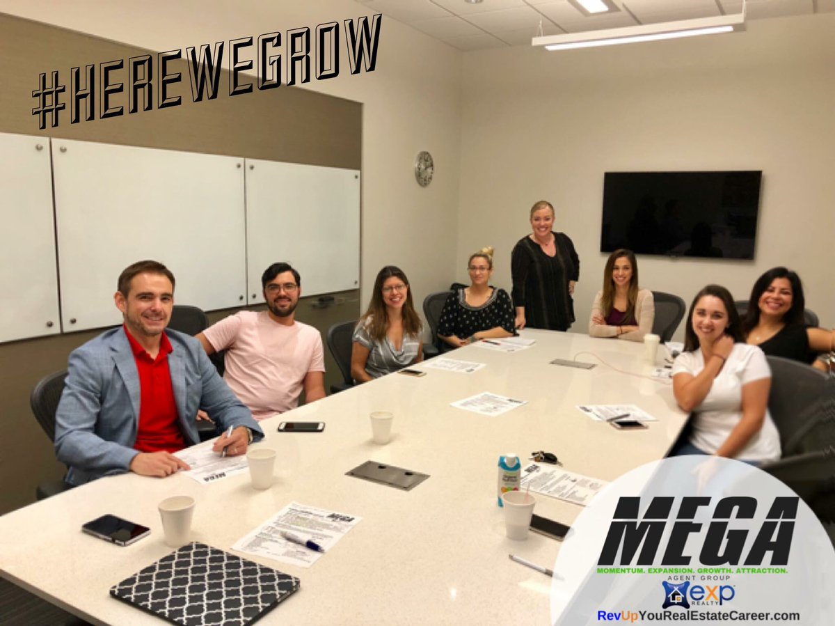 Awesome meeting & training this morning with some of the MEGA Agent group! #MEGAagentGroup #eXpRealty  #ZandR
