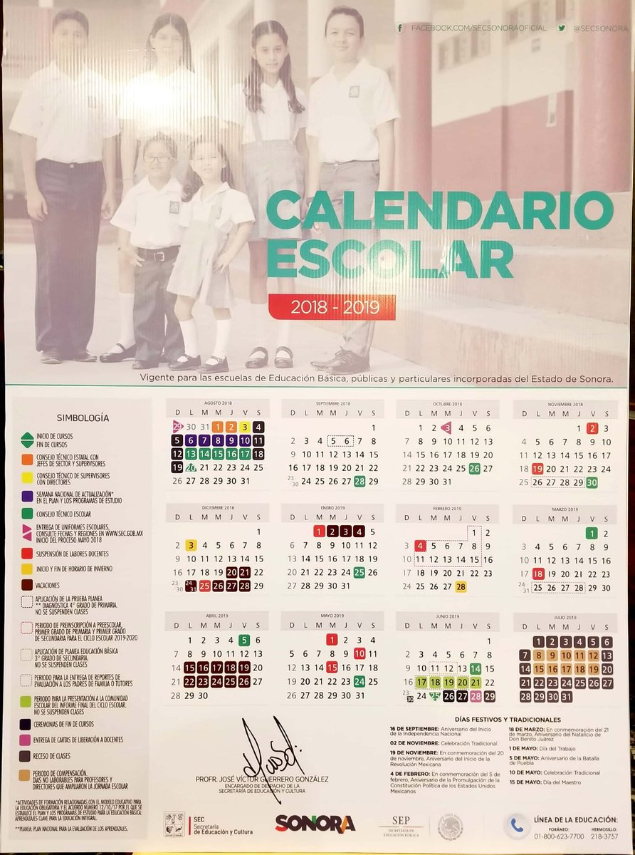 Calendario Sep 2019